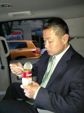 John Liu doesn't have time for bowls.